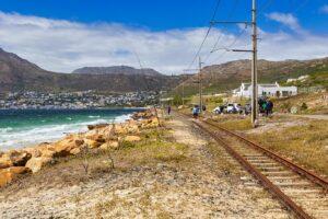 Fishing On Rail Tracks