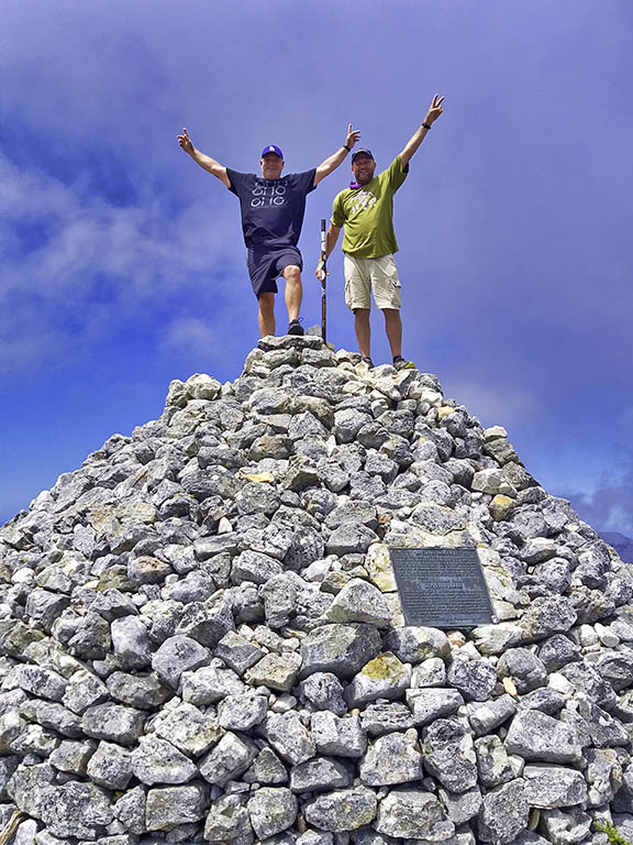 Top Of Table Mountain At Maclear's Beacon