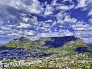 Mountain Biking Table Mountain