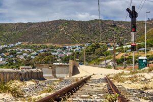 Sandy Rail Tracks Simons Town